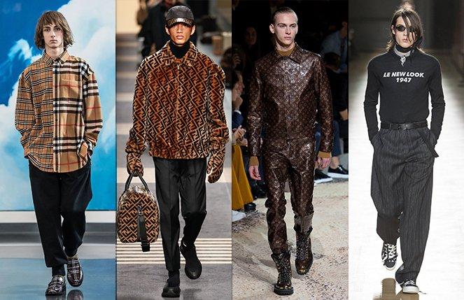 Les 22 Tendances Mode Homme De L Automne Hiver 2018 2019 Oeil De